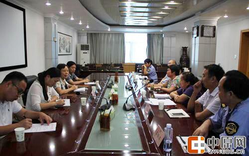 管城区人大到郑州市局围绕食品药品安全监管进行座谈