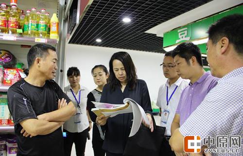 郑州市食药监局督导中原区食品药品大排查大督查工作